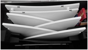 1.8M Carbon Fiber Flyaway Antenna packing