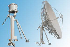 4.5m satellite dish