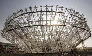 65m-diameter Radio Telescope Antenna 01