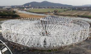 65m-diameter Radio Telescope Antenna 02