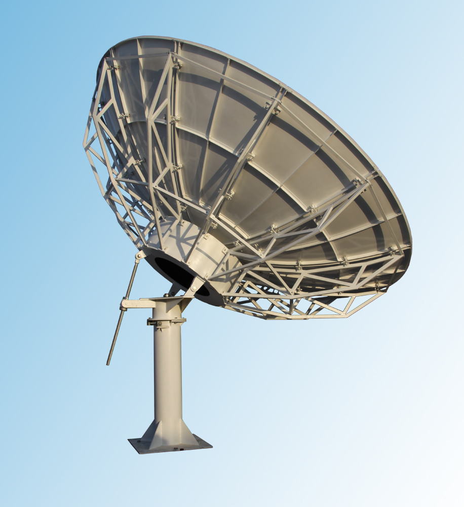 earth station antenna manufacturers suppliers large satellite dish
