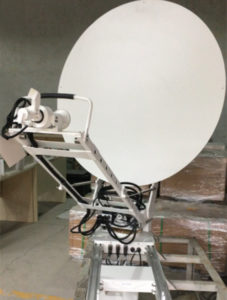 1.2m Ku-band vehicle-mounted SNG Antenna