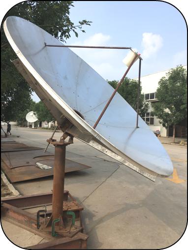 2.4M L-band dish antenna